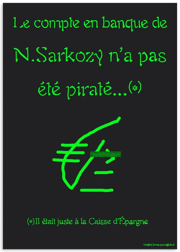Nicolas Sarkozy ne s'est pas fait pirater !