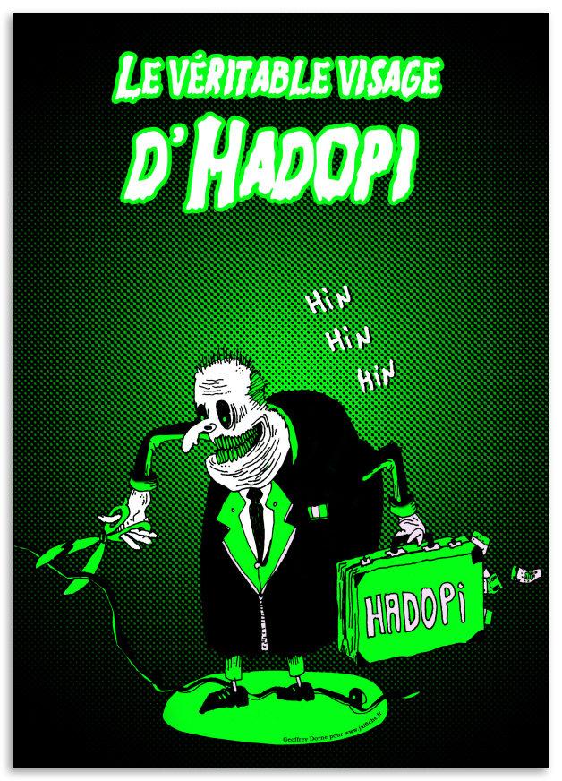 Découvrez le vrai visage d'Hadopi !