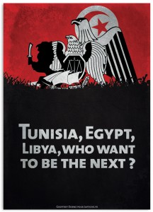 Tunisia, Egypt, Libya... Revolution !